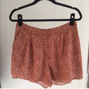 H&M PRINTED SHORTS with POCKETS